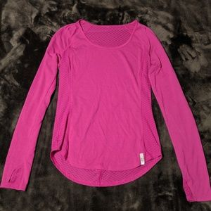 Pink Under Armour Top XS